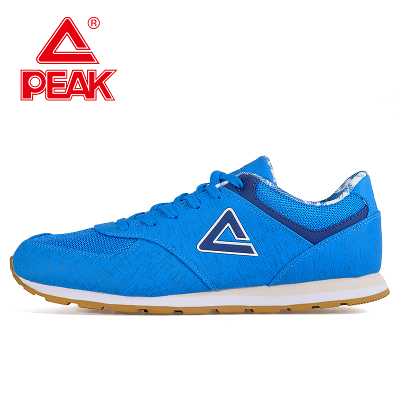 Peak/olympic men's casual sports shoes new men's casual and comfortable leather wild breathable men's casual shoes DE630097