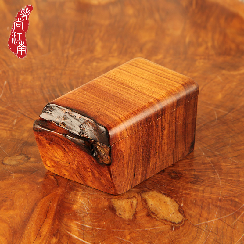 Pear wood wenge wood jewelry box princess jewelry box cosmetic box storage box upscale retro