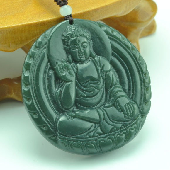 Peer hotan jade buddha pendant jade buddha jade necklace for men and women muni buddha pendant jade tablets