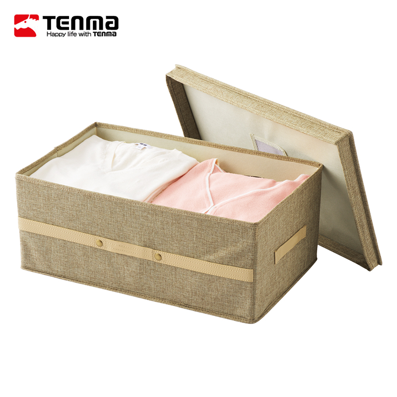 Get Quotations · Pegasus Tenma Cotton Cloth Storage Box Retro Clothing  Apparel Fabric Covered Storage Box Storage Box Finishing