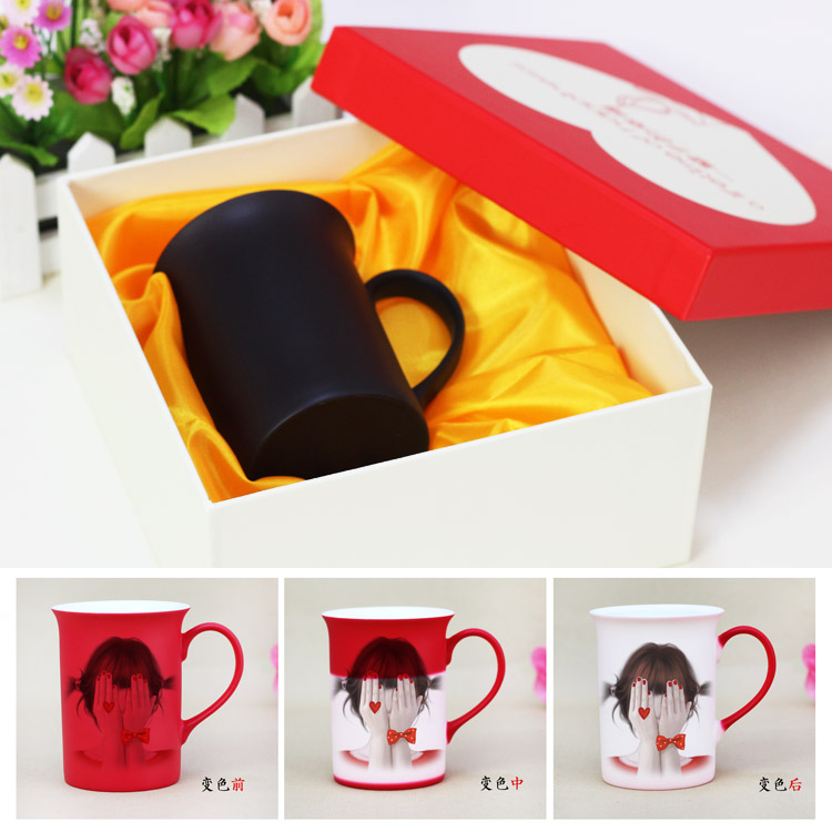 Personalized custom color mug cup creative ceramic cup of starbucks mug cup coffee cup couple cups cup lid spoon