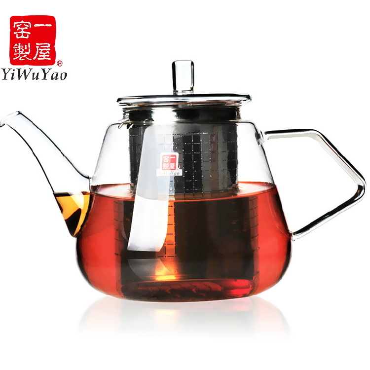Pervaya house/a house kiln heat resistant glass tea teapot teapot filter pot flowers teapot teapot