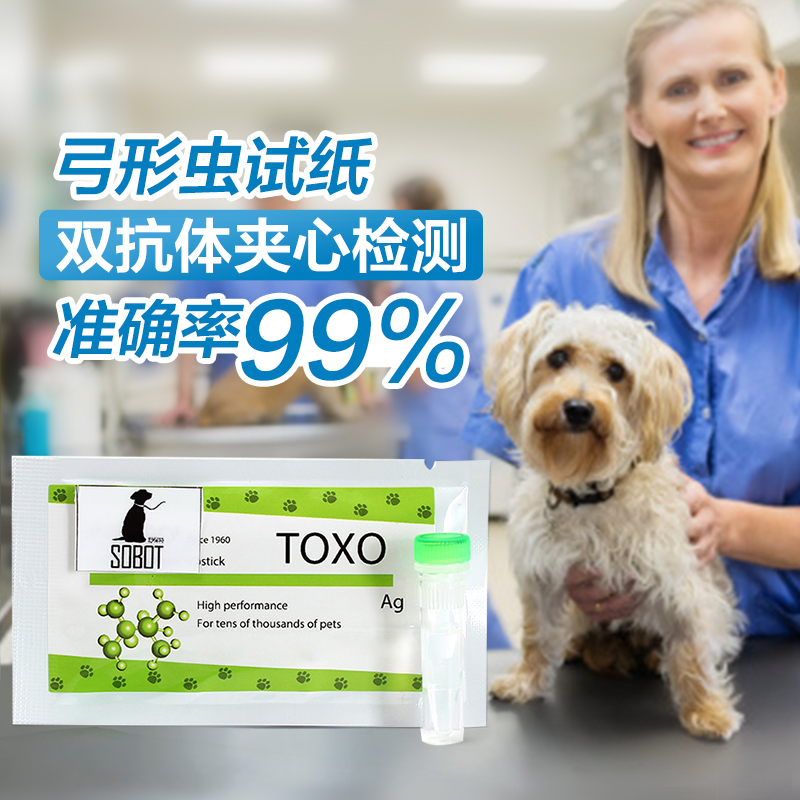 Pet pet dogs and cats toxoplasma toxoplasma dipstick dipstick test card for maternal and child raising pet family detection