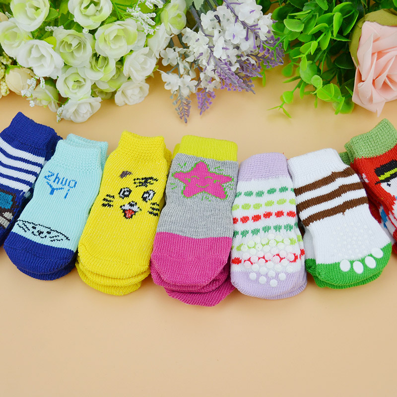 Pet supplies small dog teddy expensive bimbo us pet dog socks socks socks warm winter essential shoes