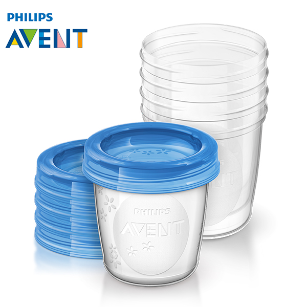 Philips avent via breast milk storage cups milk storage cups fresh cup group deposit milk 180 ml * 5 only installed
