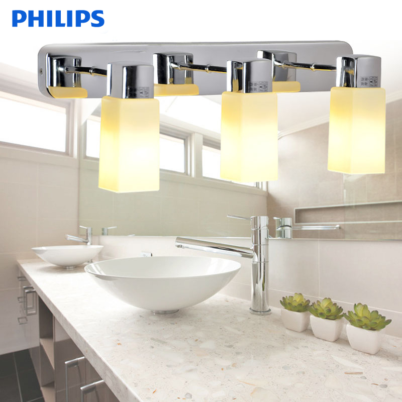 Philips mirror front lamps bathroom vanity mirror wall lamp wall lamp room toilet water fog lamp 32044 new