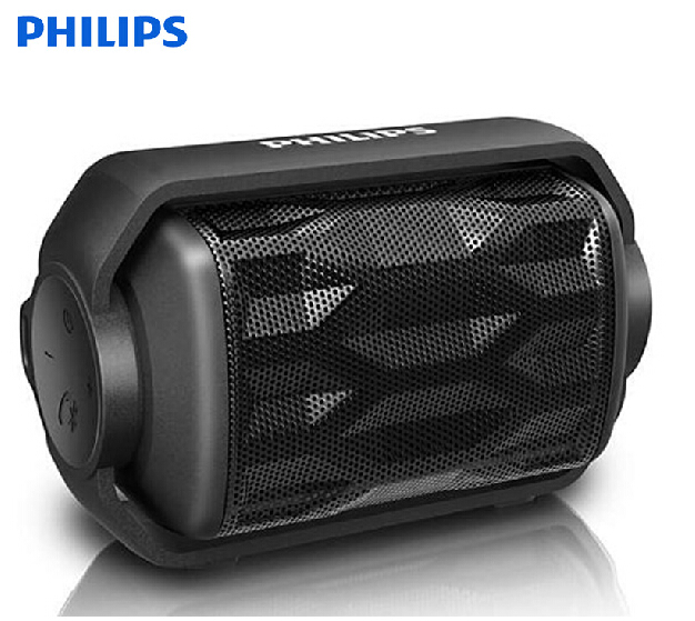 Philips/philips BT2200 waterproof outdoor sports mini bluetooth speaker subwoofer small stereo