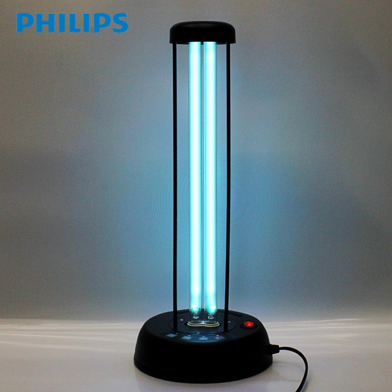 Philips uv germicidal lamp timer remote desktop household mites and prevent influenza imported sterilized' lamp is