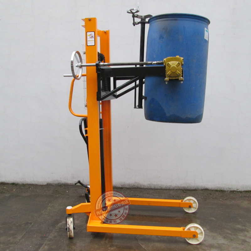 Photosynthetic drums drums truck loading and unloading trucks stacker pouring car drums increased car flipped car dual iron plastic toolbox