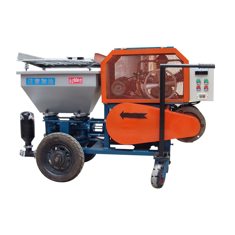 Photosynthetic plunger mortar spraying machine inside and outside the mortar mortar spraying machine automatic spray paint machine building spraying machine