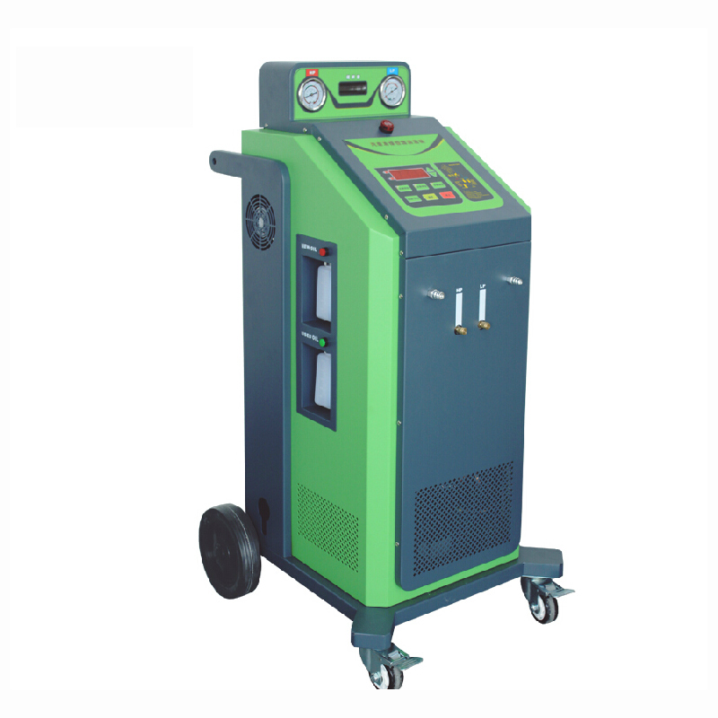 Photosynthetic pre-2015 automotive refrigerant refrigerant filling filling machine with cleaning function recovery is air conditioning refrigerant filling machine