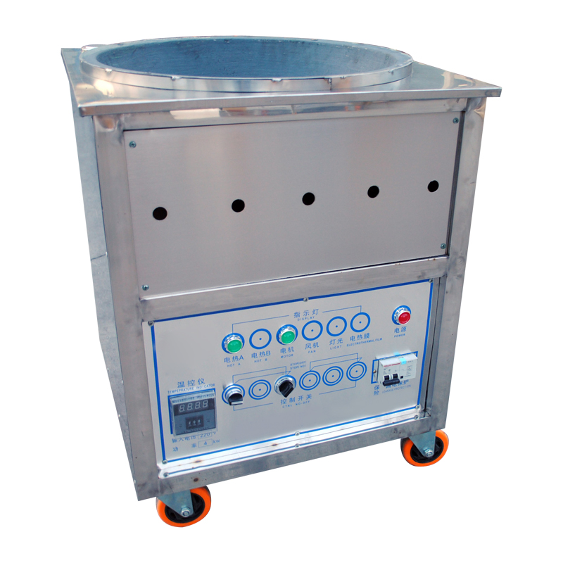 Photosynthetic single pot electric automatic small verticle sugar fried chestnut machine fried chestnut machine fried cargo chao lizi machine fried Chestnut