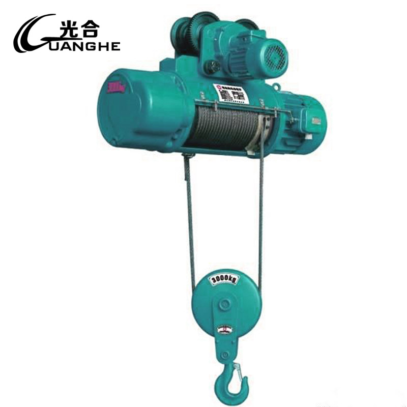 Photosynthetic small household crane hoist v micro electric wire rope hoist outdoor lifting machine 3000 kg
