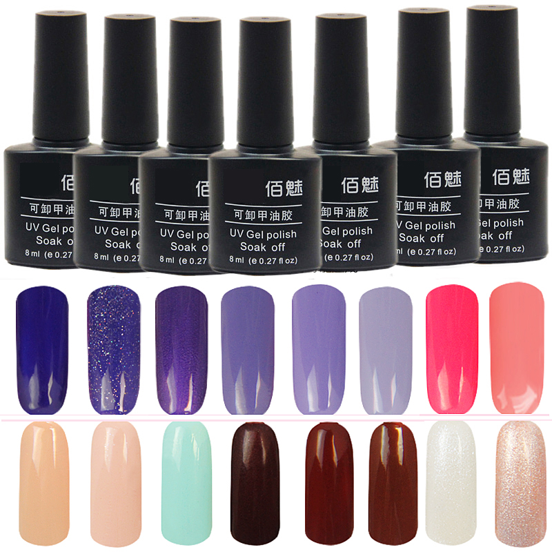 Phototherapy gel nail polish wholesale authentic light shining beforeé¢ä¿®å®¹8ml qq nail polish glue glue koudan barbie nail glue 24 color nail polish