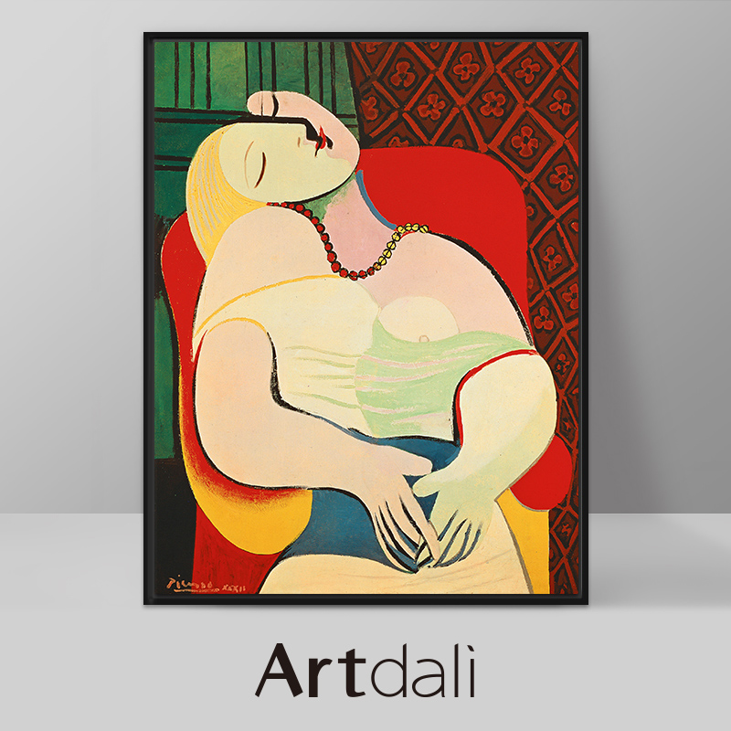 Picasso painting paintings decorative painting abstract modern decorative painting the living room entrance nordic art paintings painting dream