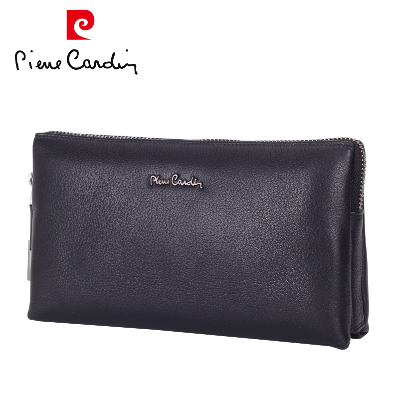 Pierre cardin/pierre cardin 2016 new man bag leather clutch bag large capacity clutch