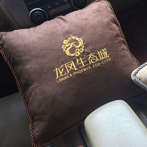 Pillow cushion quilt dual car pillow air conditioning was autumn corporate gifts wholesale custom embroidered logo