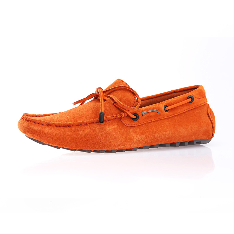 Pirelli/pirelli peas shoes men's shoes cow suede leather foot casual shoes to help low scrub