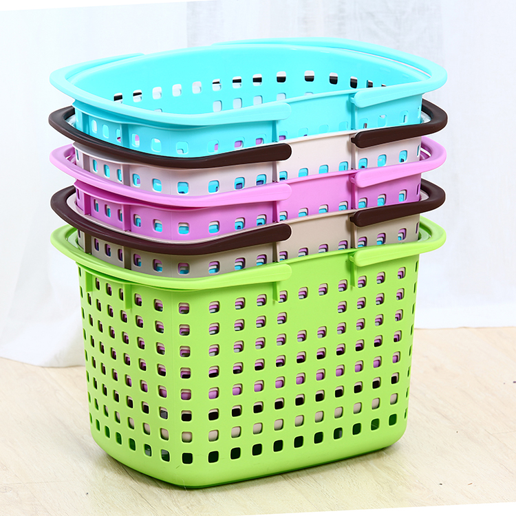 Plastic laundry basket laundry basket of dirty clothes storage baskets large laundry basket laundry basket portable storage basket laundry barrels bathroom