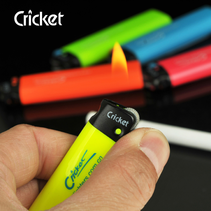 Plastic lighters swedish match fluorescence ed1 grasshoppers disposable lighters imported flint lighter