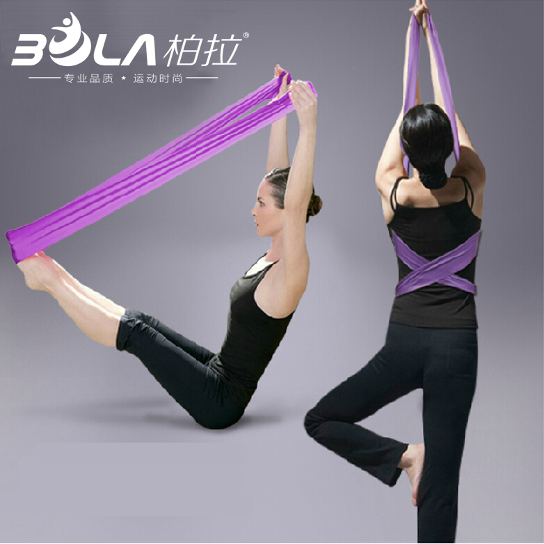 Plato 2 mega long slim down latex elastic band tension with yoga stretch with male ms. fitness strength training