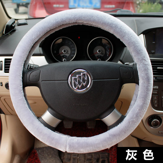 Plush steering wheel cover volkswagen new jetta santana tiguan lavida sagitar bora cover to keep warm winter universal