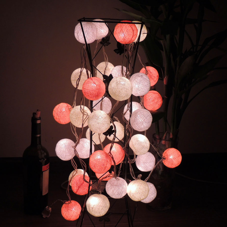 Poem maha thai line ball lantern string lights flashing string lights star lights string lights holiday decorations photography background light