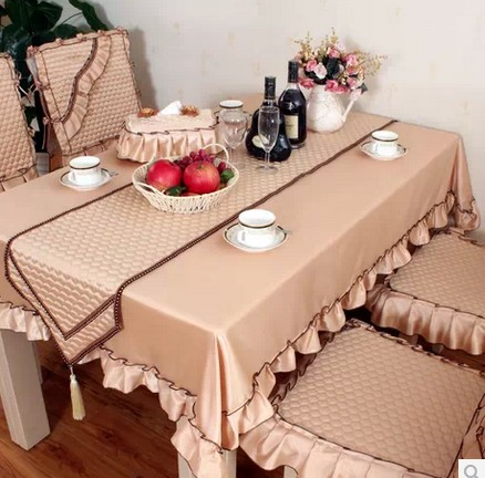 Poetry dambeck brand upscale upholstery fabric dining chair cushion cover tablecloth tablecloths and chairs set table flag euclidian