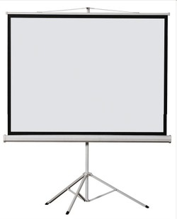 Pole m 100-inch projection screen projector screen stand sample 72 luxury bracket fiberglass white plastic