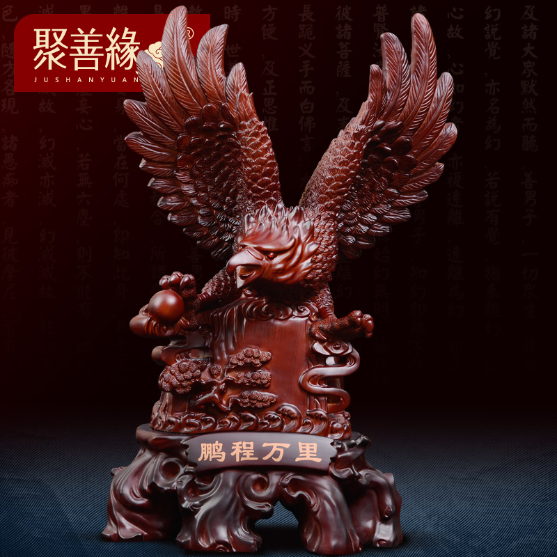 Poly karma grand plans eagle pengchengwanli ornaments gift shop opened office room desk ornaments business gifts