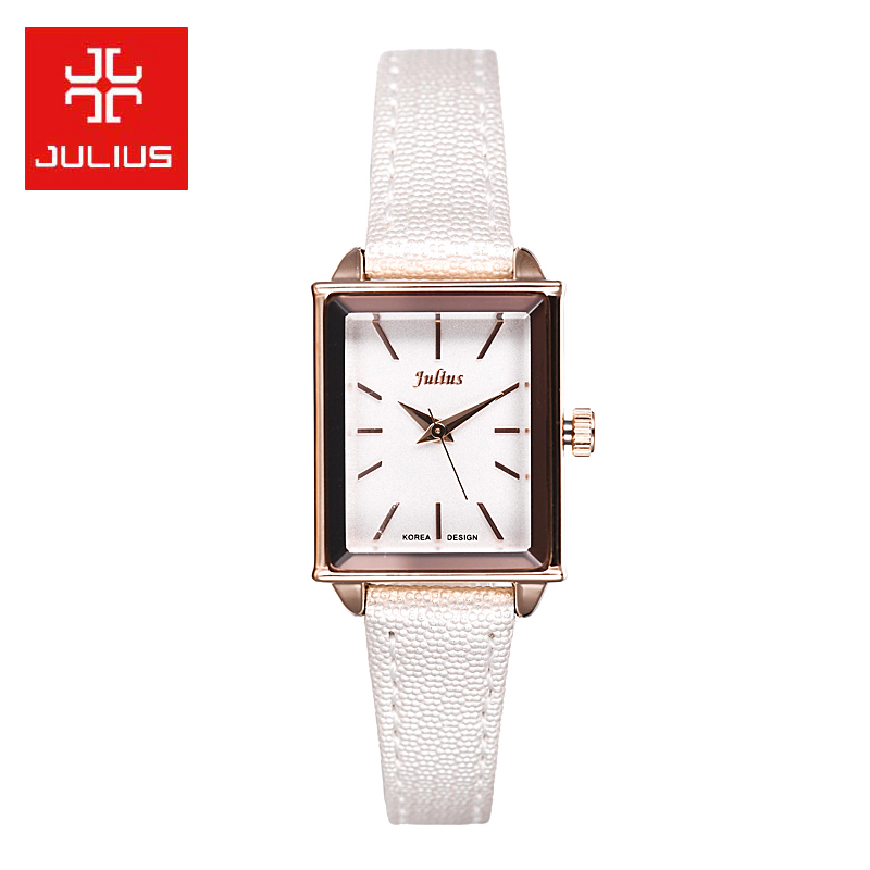 Poly lee watches korean female students simple korean fashion trend really belt quartz watch casual female form a square
