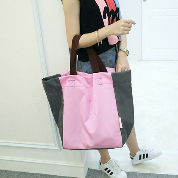 Portable folding supermarket shopping bags tote bag waterproof storage bag shopping bag large tote bags