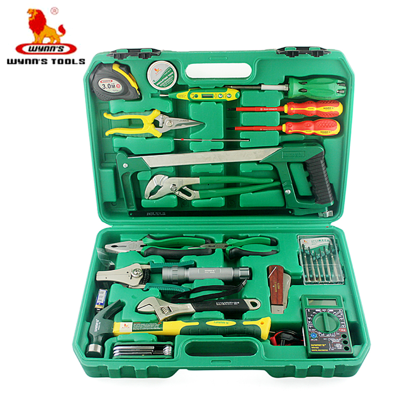 Power of the lion tool 38 sets of electric power tool kit hardware maintenance electrician tool combination tool kit