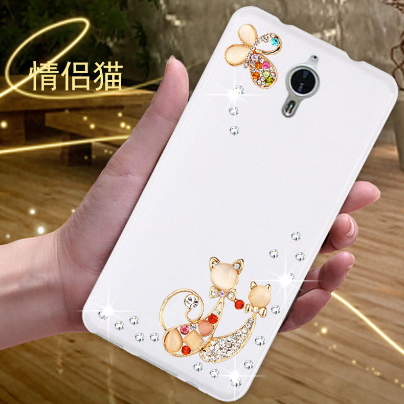 Pptv pptv King7 king s mobile phone sets protective sleeve s PP6000 rhinestone mobile phone shell silicone soft shell