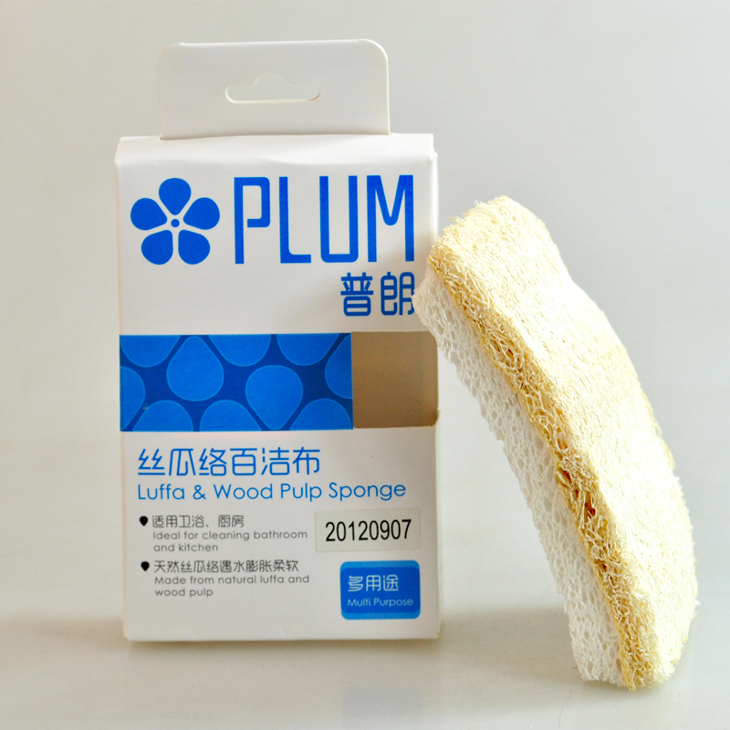 Prang plum loofah sponge scouring pad scouring pad dishcloths not contaminated with oil washing kitchen utensils scouring pads