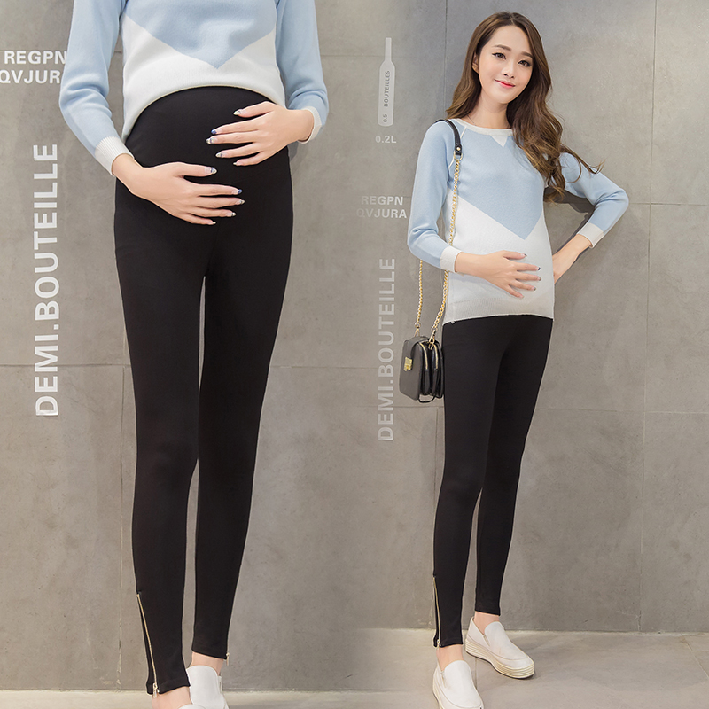 43888e81c6069 Get Quotations · Pregnant women leggings autumn outer wear maternity pants  spring and autumn big yards was thin side