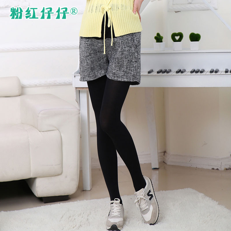 Pregnant women shorts spring and summer thin four seasons of pregnant women in five pregnant women summer fashion shorts care of pregnant women pregnant belly pants spring and outer wear