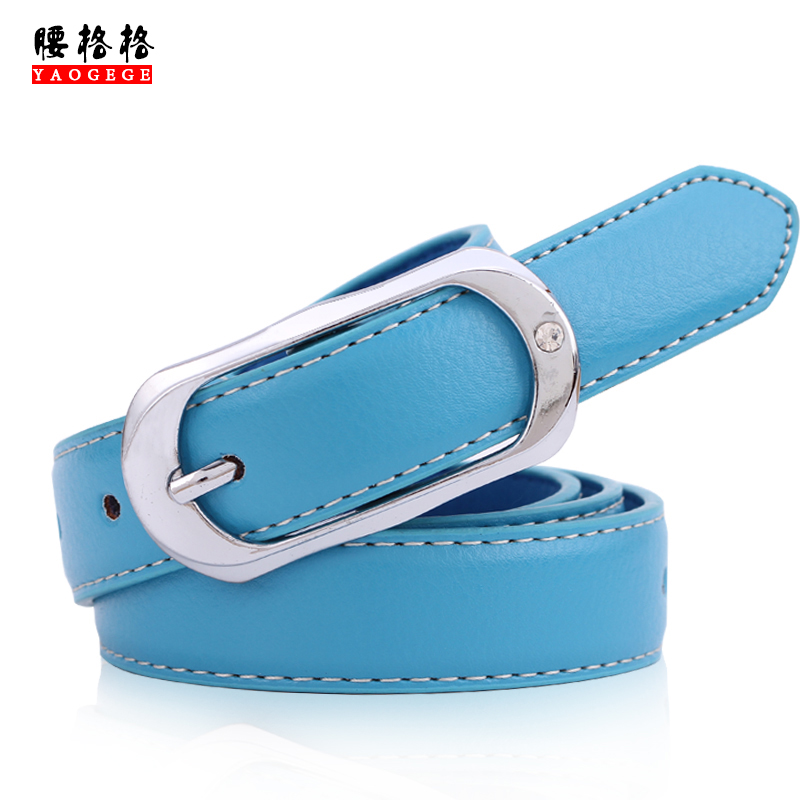Princess waist belt belt belt female models female korean version of the simple pin buckle belt fashion decoration belt female models