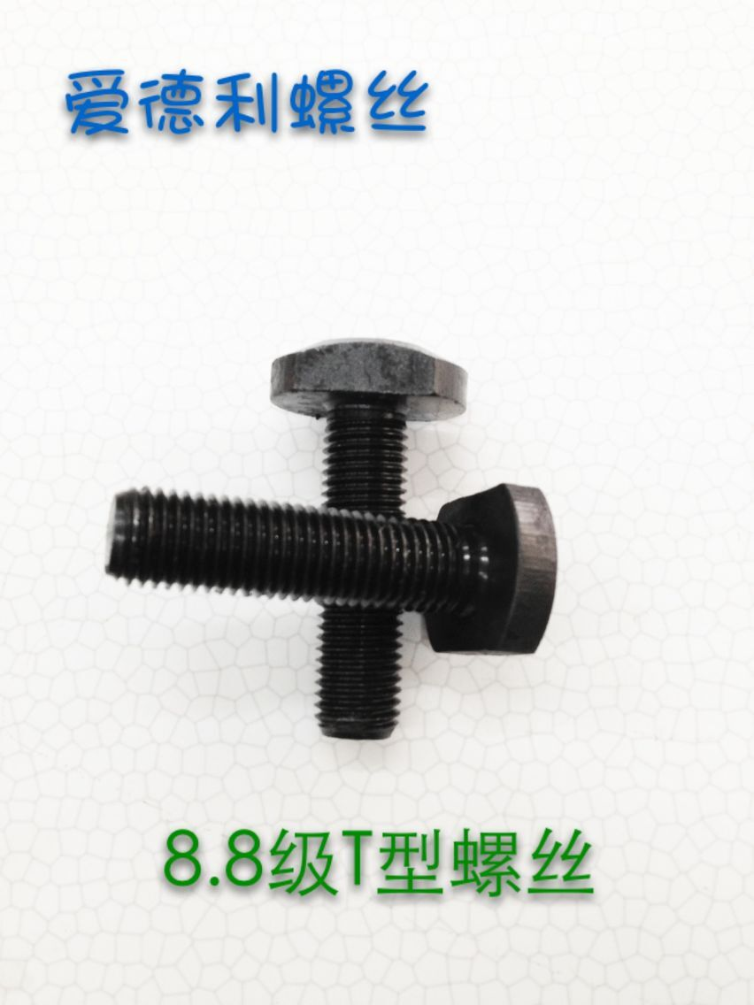 Promotional gb37/t type screw/t type slot bolts/t-shaped plate screw/t type screw /T type screw m16