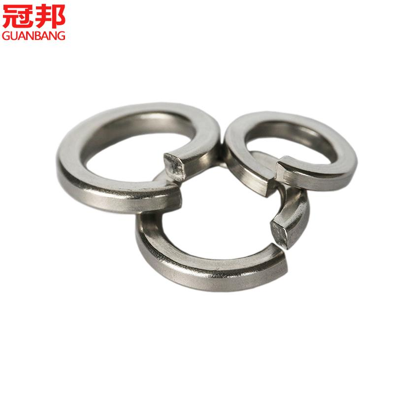 Promotional gb93/din127 316 stainless steel spring washer/spring washer/elastic gasket/washer m2-m36