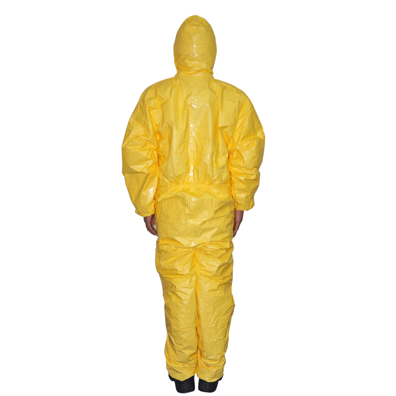 Promotional genuine dupont c grade chemical protective clothing/chemical protective clothing resistant to acid and alkali dust protective clothing
