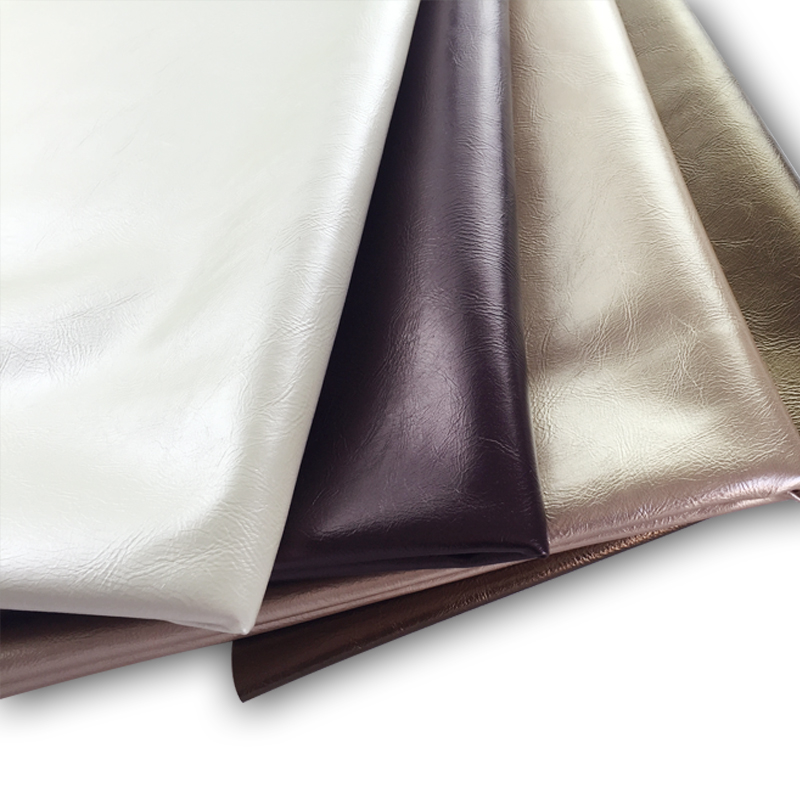 Pu leather fabric soft bag hard bag backdrop deck chair leather bag leather material olive grain coarse grain fine lines