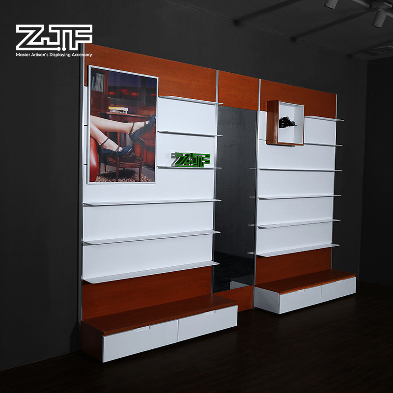 Get Quotations · Public Carpenter Square Zjf Shoe Store Display Shelves Wall  Display Cabinet Casual And Shoetec D1u0027