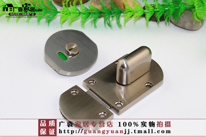 Public toilet partition hardware lock someone no indication toilet door lock 304 stainless steel partitions locks