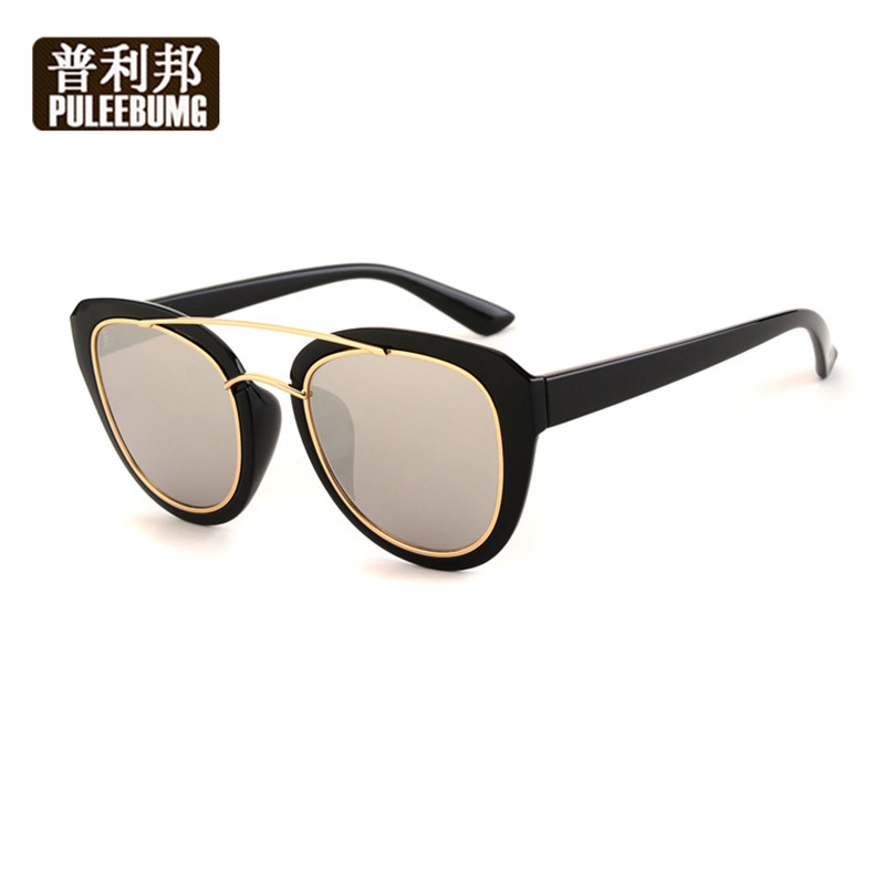 Puli bang ms. polarized sunglasses colorful sunglasses fashion sunglasses retro sunglasses ms. ms. comfortable driving driver mirror