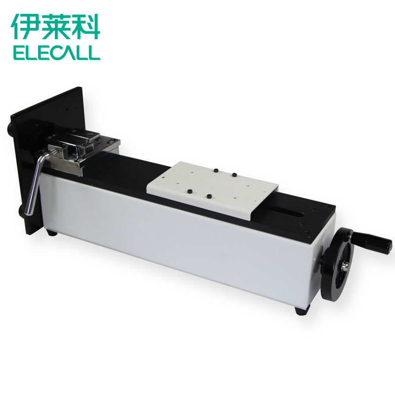 Push pull force gauge test stand bracket screw vertical and horizontal dual testboard push pull force gauge test machine