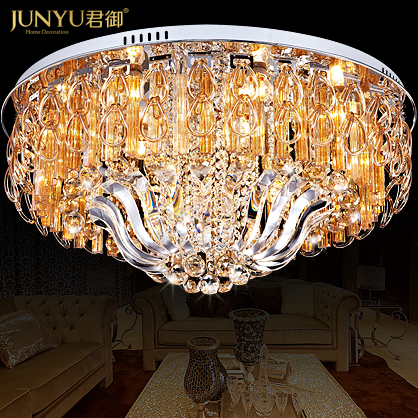 Q imperial modern luxury living room lamp crystal lamp round led ceiling lights bedroom living room dining room lighting fixtures 2161