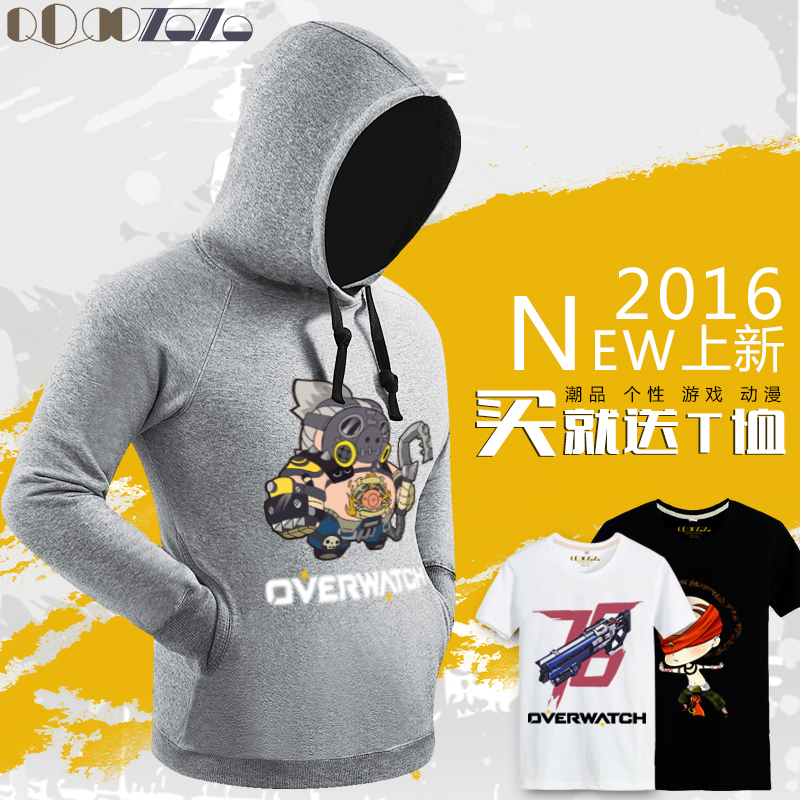 Q version of the cartoon watch ass shirts andhoodies genji fortress check leah angels game pioneer youth jacket tide products
