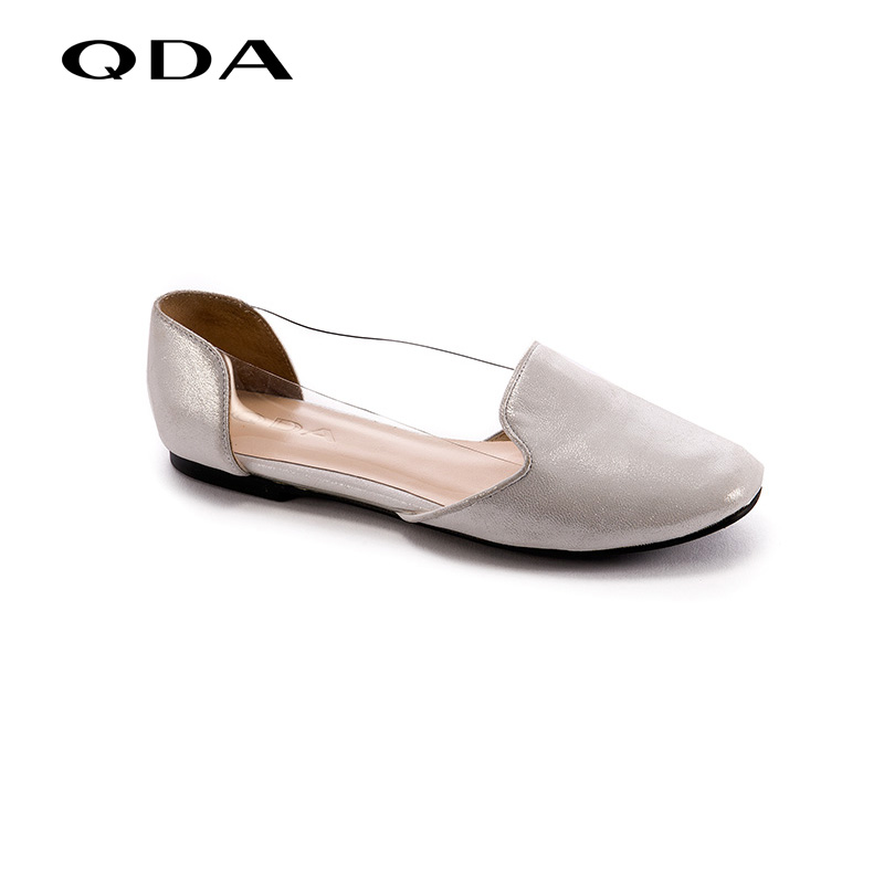 Qda counter genuine sheepskin shoes flat shoes 2016 summer new fashion simple and elegant 40180010