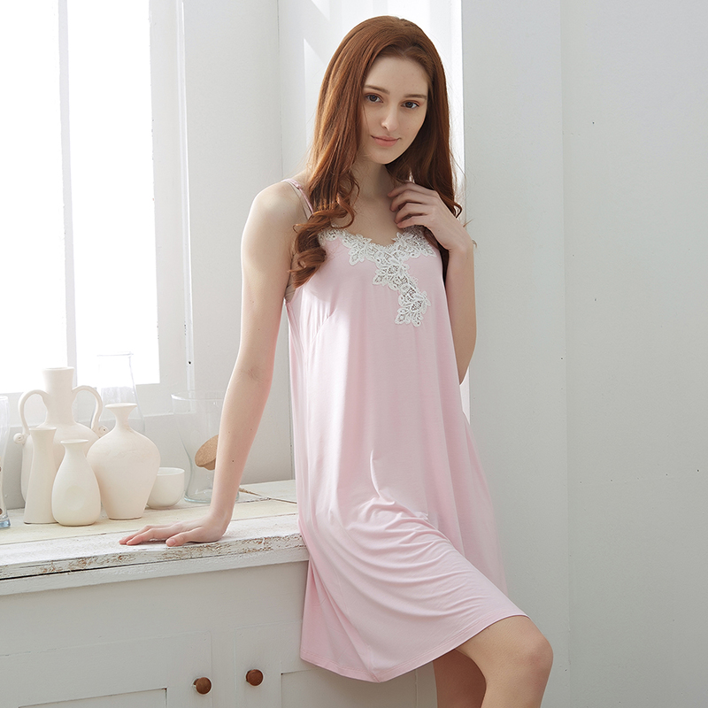 Qi rui lace nightgown female summer princess nightgown ms. suspenders sexy pajamas nightgown women tracksuit sexy lingerie